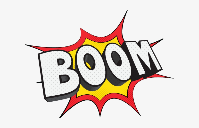 Instant download superhero cupcake toppers boom pow splat.