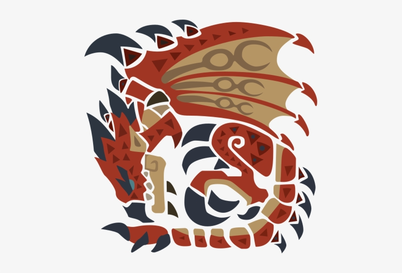 Main Objective Monster Hunter World Rathalos Symbol