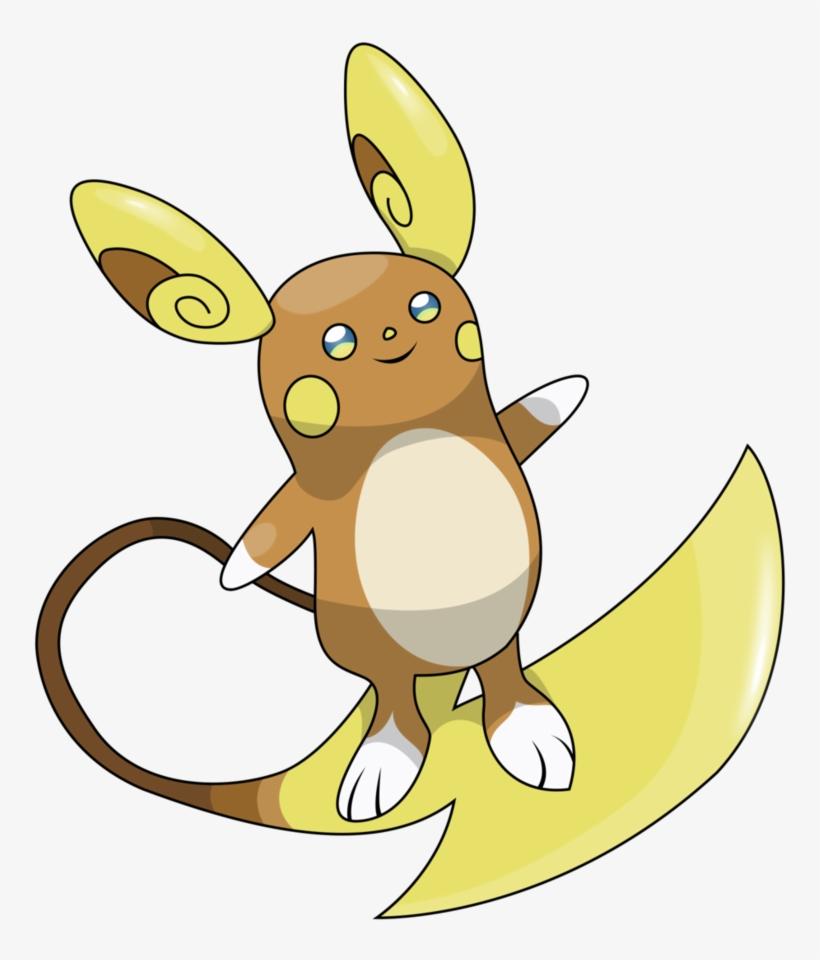 Alolan Raichu Png Raichu Alola Pokemon Png Transparent Png