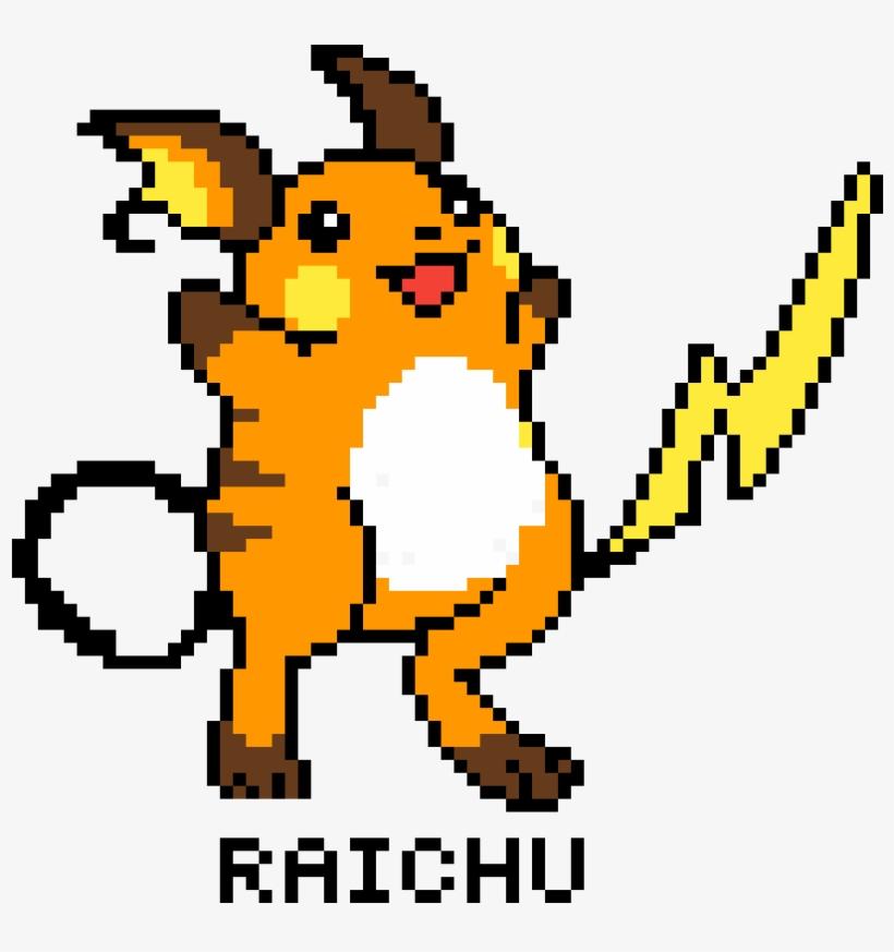 Raichu Pixel Art Raichu Sprite Transparent Png 1200x1200
