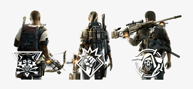 Division 2 - Specializations - Specialization The Division 2