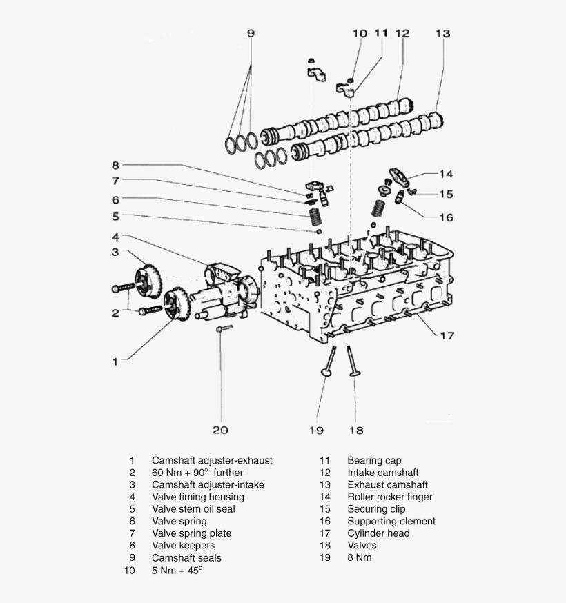 intake valve diagram luxury repair guides engine mechanical - audi 3 2  camshaft cap torque specs