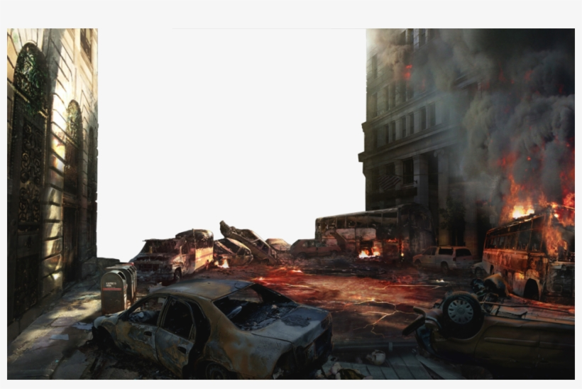 Destroyed City Png Transparent Png 968x600 Free Download On Nicepng