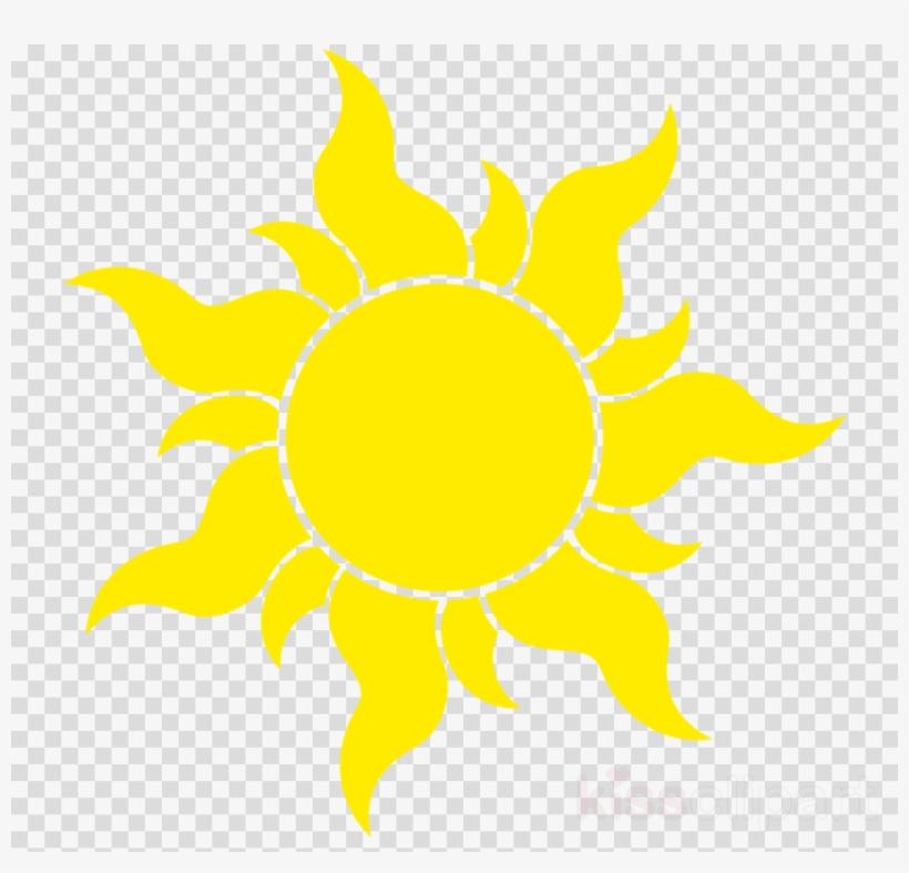 Tangled Sun Png Clipart Rapunzel Clip Art Philippine Flag Sun