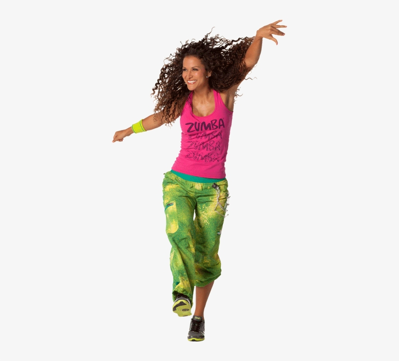 Zumba Picture Zumba Girl Dancing Png Transparent Png 360x661 Free Download On Nicepng
