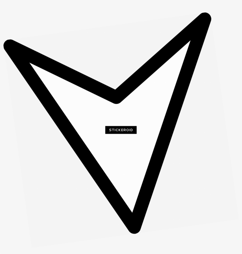 Triangle Arrow Down - Triangle Transparent PNG - 2709x2710