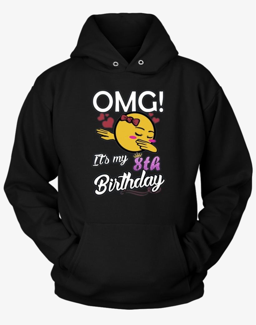 Omg Its My 8th Birthday Emoji Dabbing T Shirt Gift