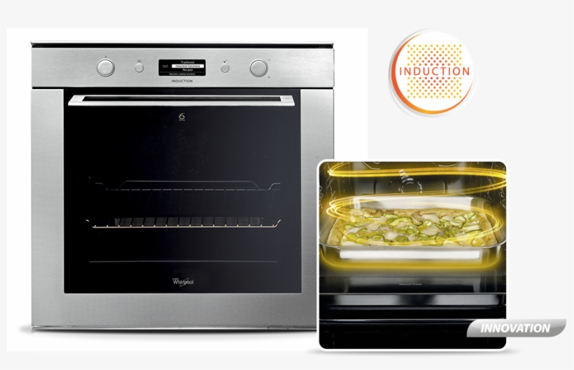 Sense Induction Oven Whirlpool Png