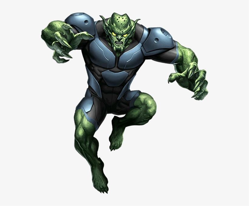Green Goblin Ultimate Spiderman Duende Verde Transparent Png