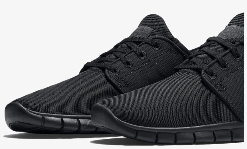 Mens Skate Shoes - Mens Trainers Black Transparent PNG - 934x518 ... fb1d1a876