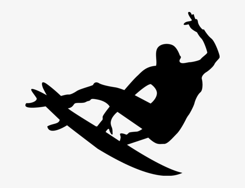 Surfing Silhouette Png Image Surfer Silhouette Vector