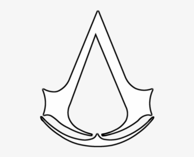 Symbol Podstawowy Assassins Creed Para Colorear Transparent Png