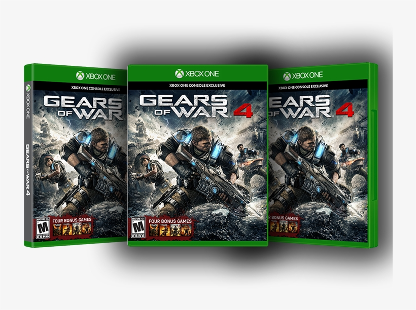 Eight Winners Everyday* - Gears Of War 4 Xbox One Game Codes