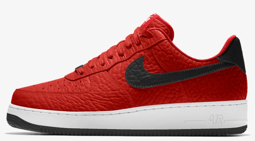 cheaper 9ecfe 97b7a Nike Air Force 1 Low Premium Id Men's Shoe Size - Nike Red Color Shoes