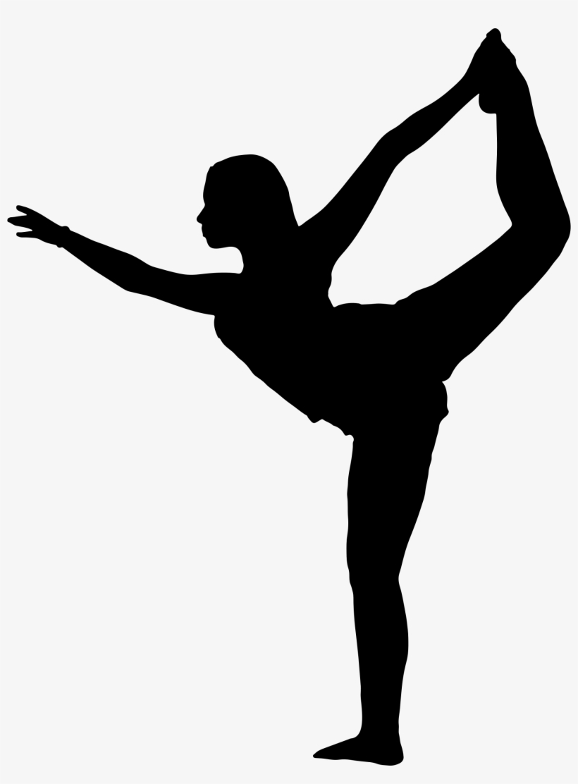 Gymnastics Svg Dancer Silhouette Yoga Poses Silhouette Png Transparent Png 1760x2302 Free Download On Nicepng