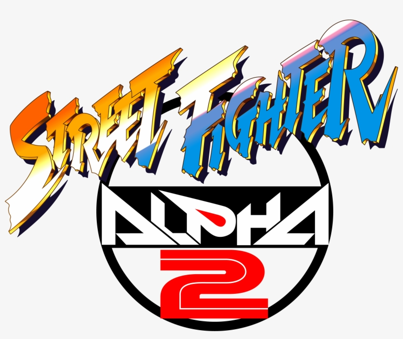 Street Fighter Alpha Street Fighter Alpha 2 Logo Transparent Png