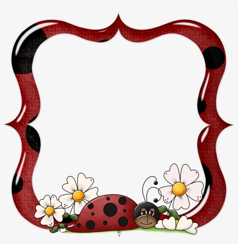 molduras ladybug png frames lady bug png transparent png