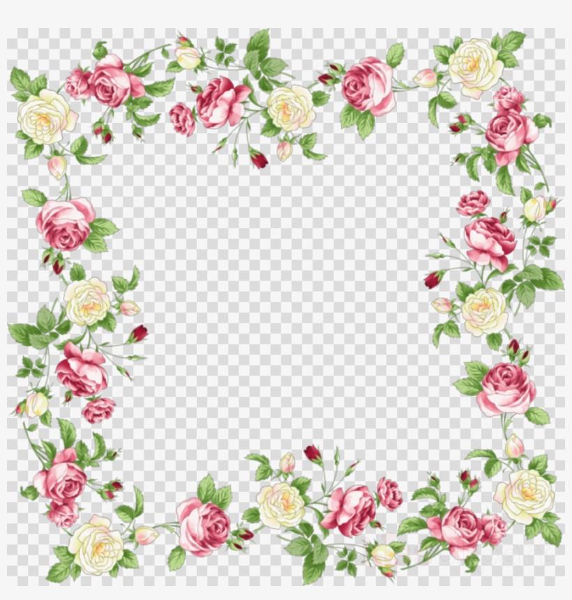 Download Floral Border Png Clipart Floral Design Clip Transparent