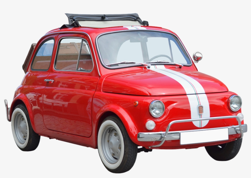 Red Fiat Png Image Old Fiat 500 Png Transparent Png 960x636