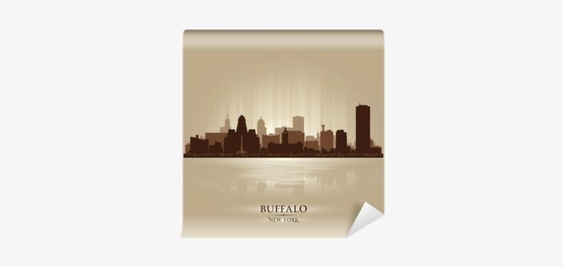 Buffalo New York Skyline City
