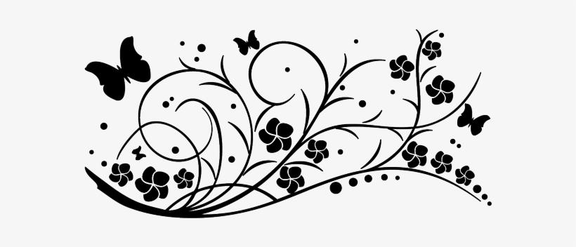 Flores Tribal Png Dibujos De Enredaderas Con Flores Transparent