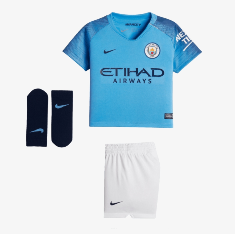 Nike Manchester City Home Infant Kit 2018/2019 - Manchester City Ucl
