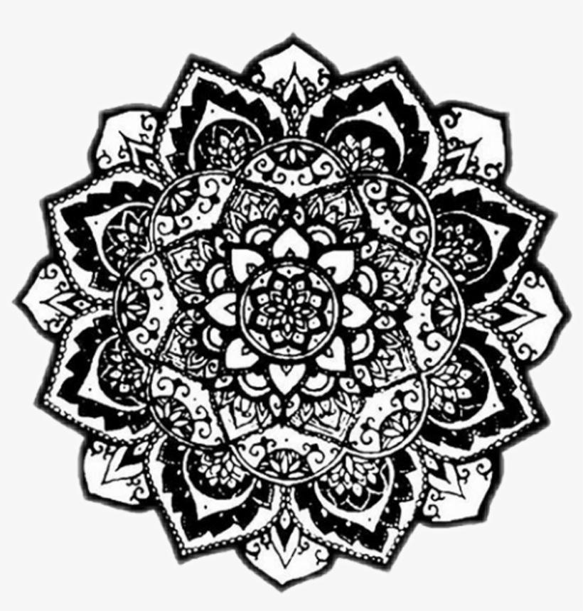 Mandala Tumblr Pfp Icon Overlay Transparent PNG - 1024x1024