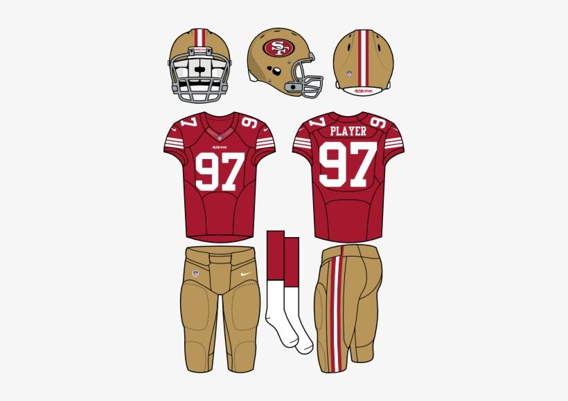d25db7186d7 Football Clipart 49er - New York Jets Home Uniform Transparent PNG ...