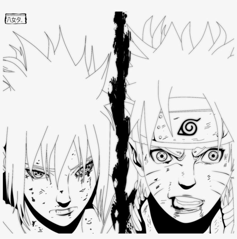 Drawing Sasuke Epic Naruto Y Sasuke Line Art Transparent Png 912x876 Free Download On Nicepng