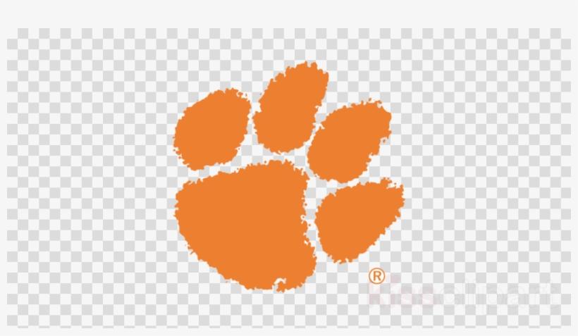 Clemson Clemson University Clipart Paw Tigers  Clemson