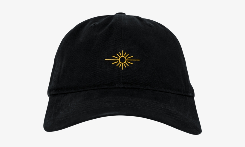Black Dad Hat W  Embroidered Sun Logo - Valentino Khan Shirt ... 2b608aef33db