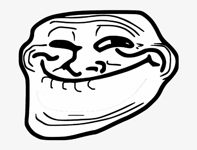Troll Face F Mouth Troll Face Transparent Png 733x590 Free Download On Nicepng