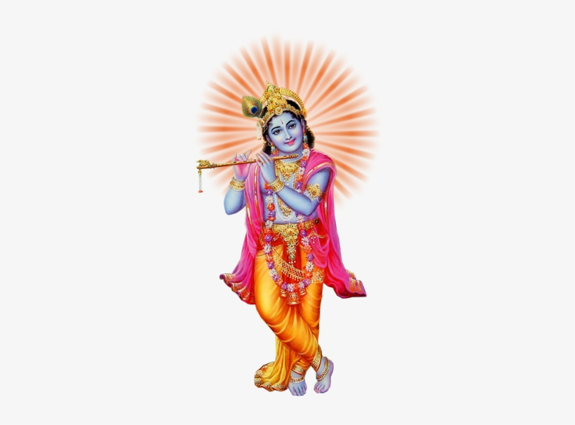 Lord Krishna Png Pic Krishna God Hd Png Transparent Png 378x607