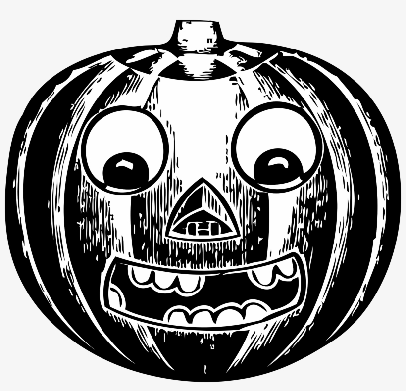 Jack O Lantern With Eyes Clipart Royalty Free Download