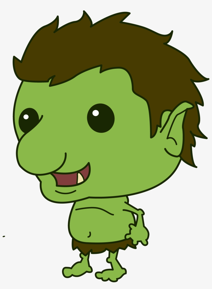 collection of trolls clipart