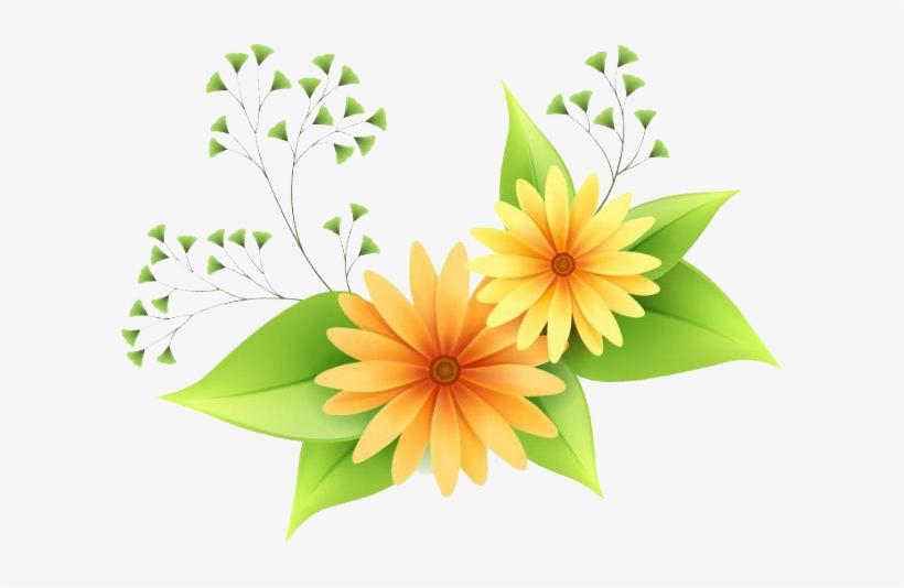 Flowers Vectors Png Clipart Flowers Vector Transparent Png