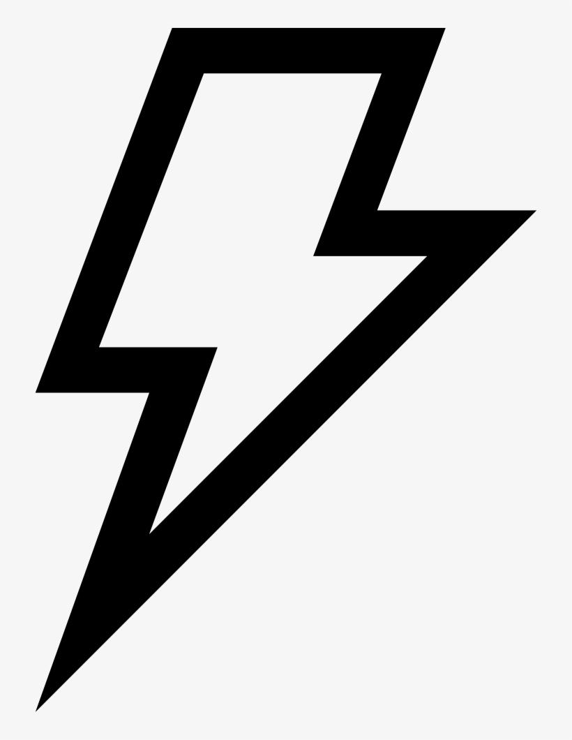 Lightning Bolt Outlined Weather Symbol Comments Lightning Bolt Icon Png Transparent Png 720x980 Free Download On Nicepng
