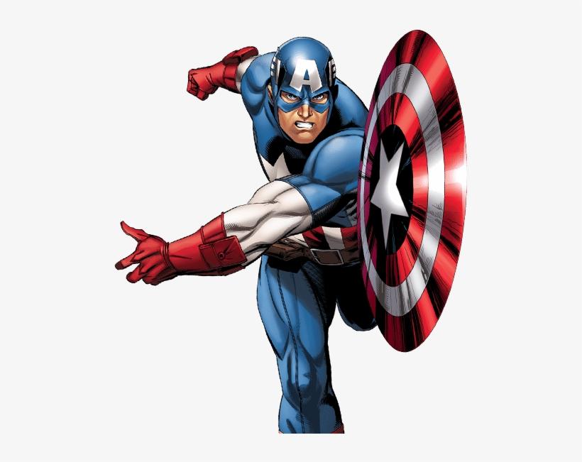 Marvel Avengers Captain America Png Image - Captain America Comic