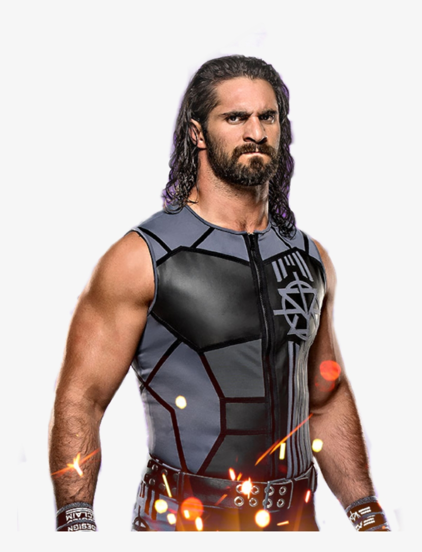 Seth Rollins Transparent Images Wwe 2018 Mini Wall Calendar