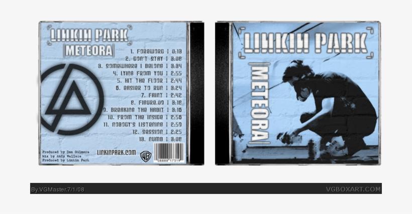Meteora Box Art Cover Linkin Park Album Songs Transparent