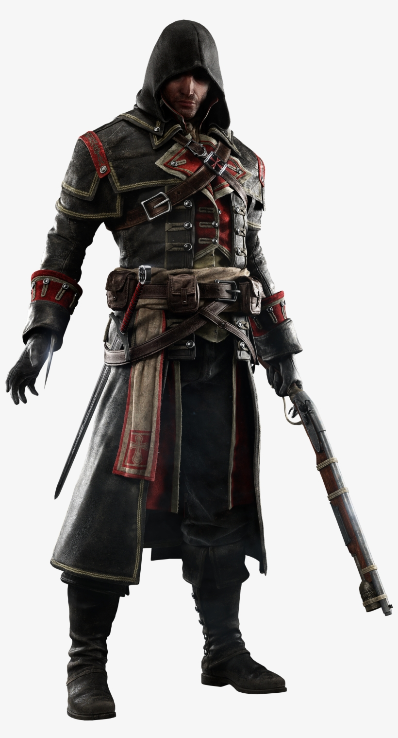 Shay Cormac Minecraft Skin Assassins Creed Rogue Transparent Png