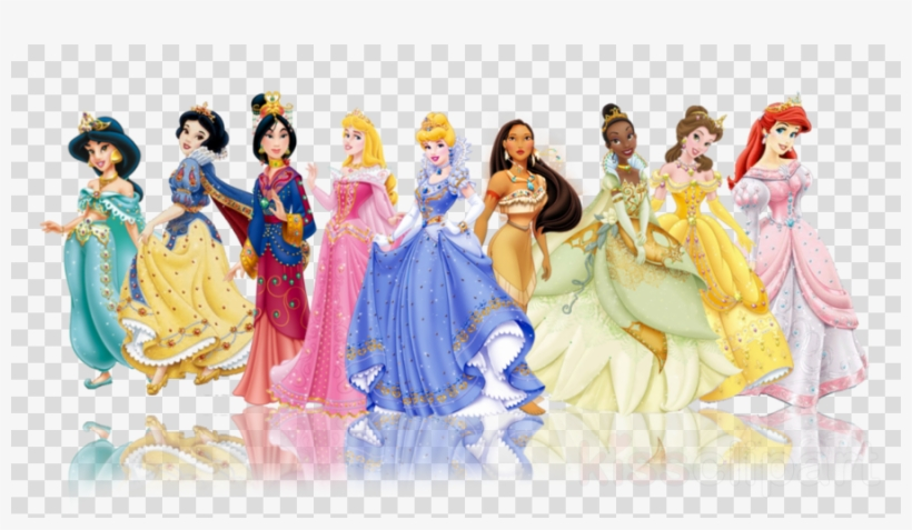 All Princess Disney Transparent Clipart Rapunzel Princess Disney