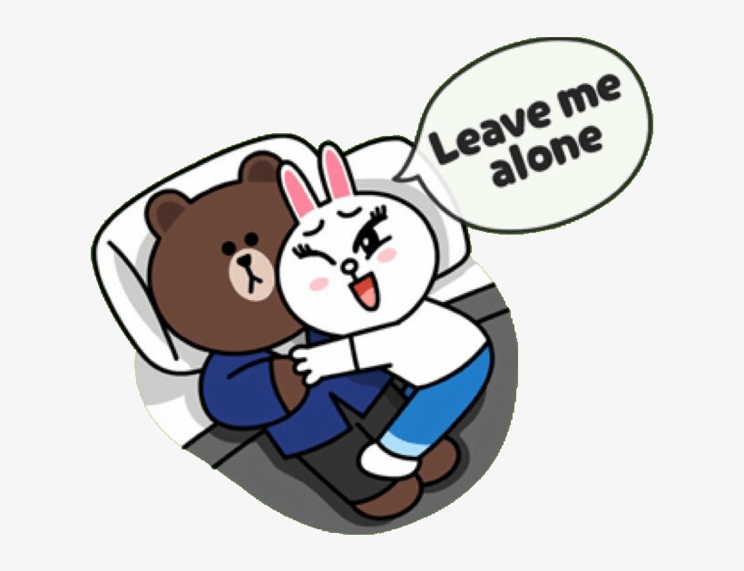 Brown Amp Cony Wallpaper - Stickers Gif From Line