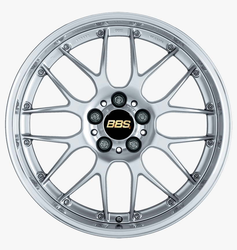 Bbs Rs-gt Dspk - Bbs Rs Wheels Silver Vw Transparent PNG