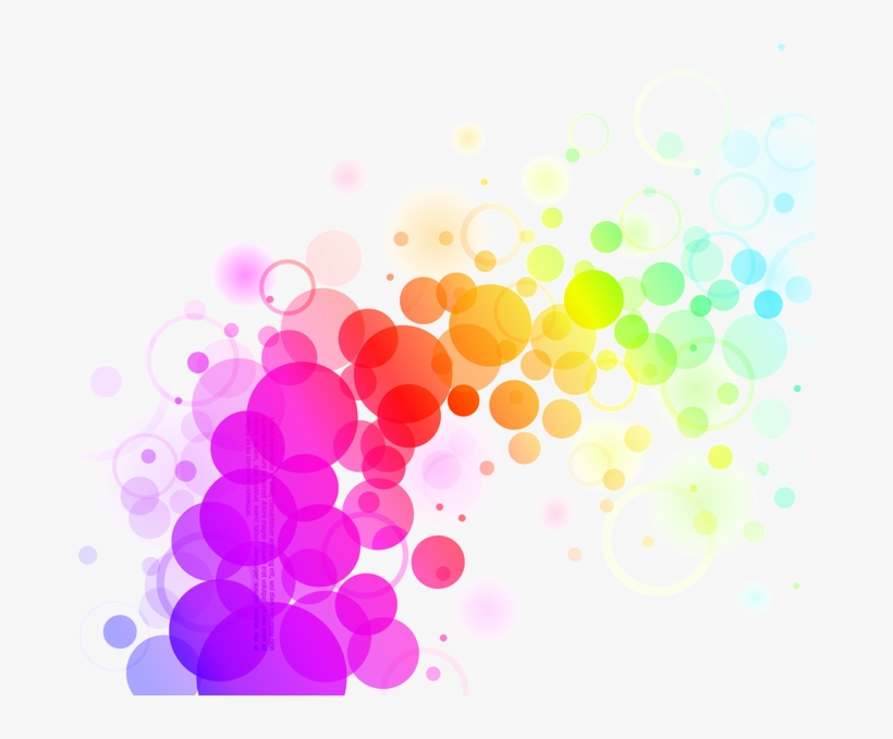 Abstract Colors Png File Abstract Colorful Dots Background