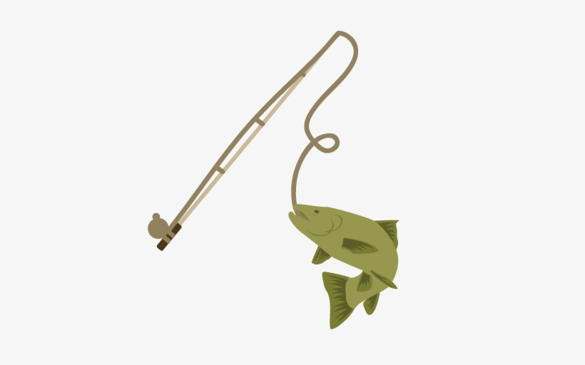 Fishing Clipart Fishing Pole With Fish Transparent Png 432x432 Free Download On Nicepng