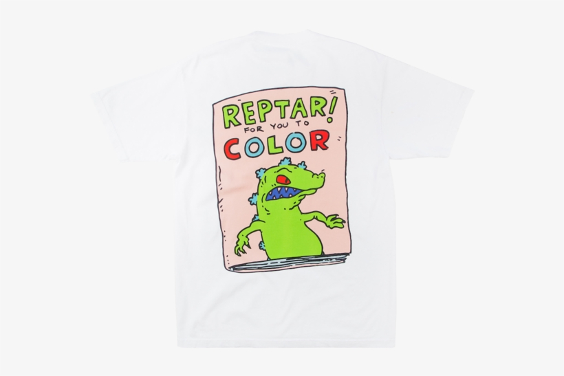 Rugrats Reptar To Color Tee Reptar Transparent Png 690x690 Free Download On Nicepng