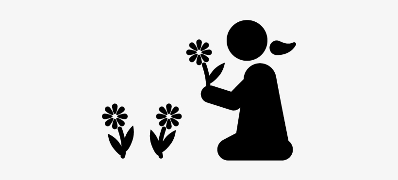 Flowers Vector Children And Nature Icon Transparent Png