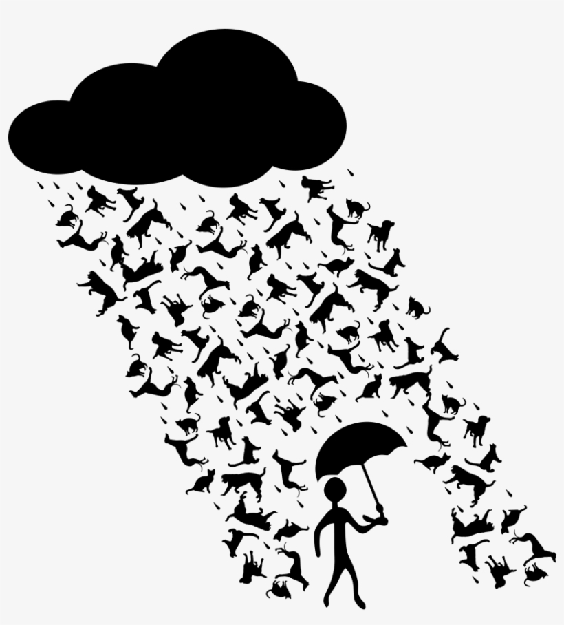 How To Set Use Raining Cats And Dogs Clipart Transparent Png 850x900 Free Download On Nicepng