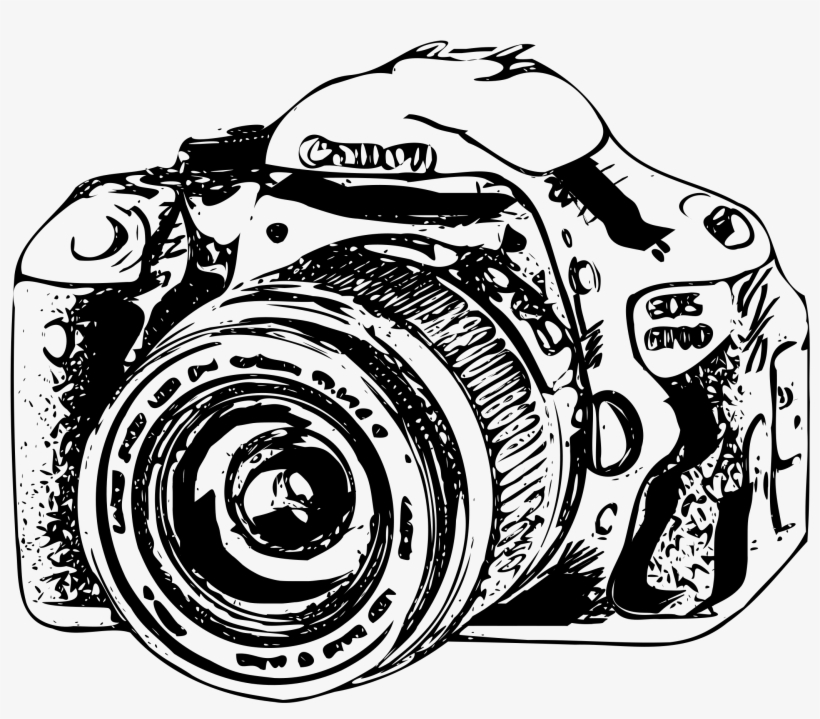 Camera Canon Eos Photgraphy Clipart
